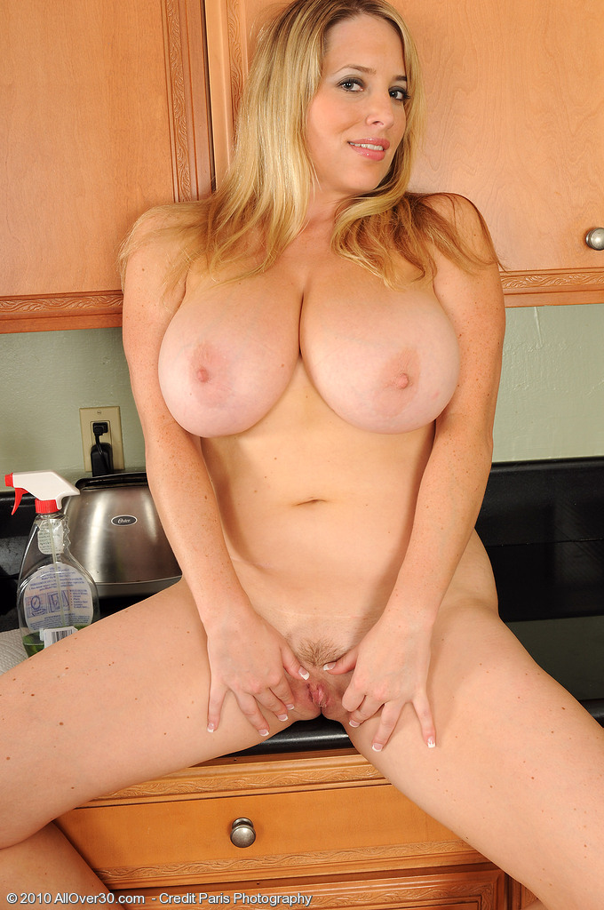 Blonde big tits mature milf in a dating service 8