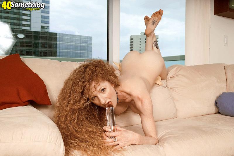 Curly redhead annie