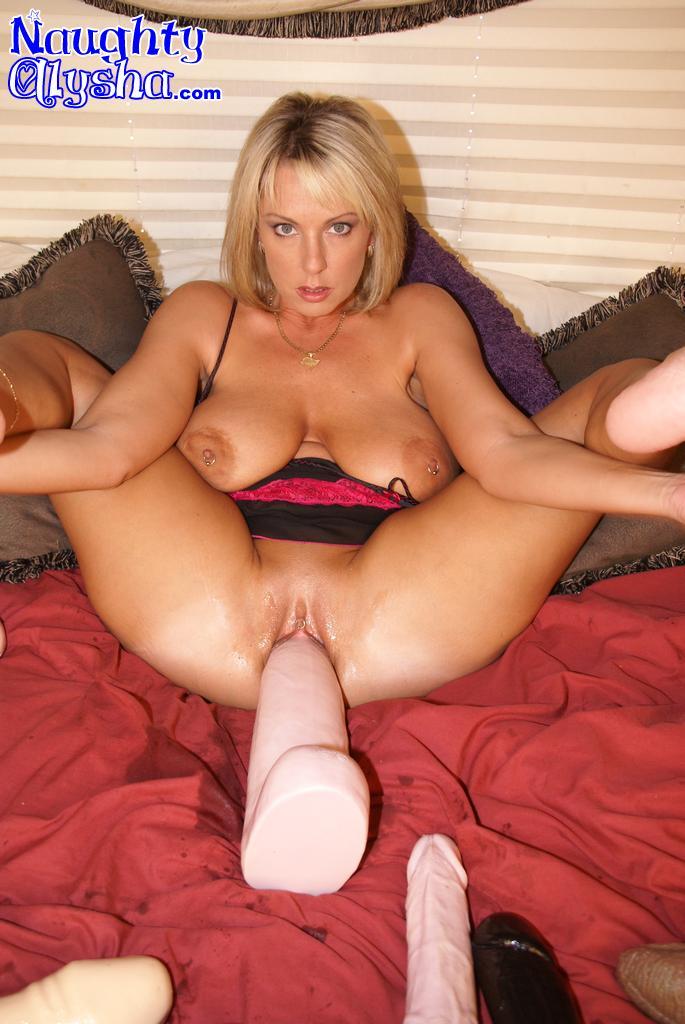 Busty Big Tit Milf Dildos Her