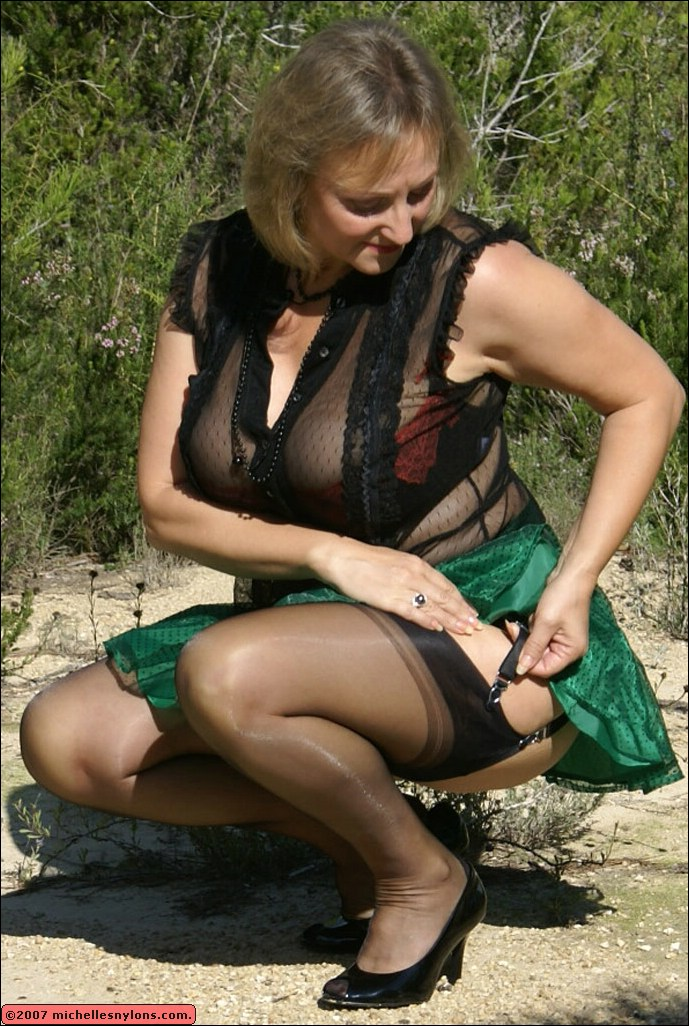 Blonde cougar knows how to please a younger man - 2 part 3
