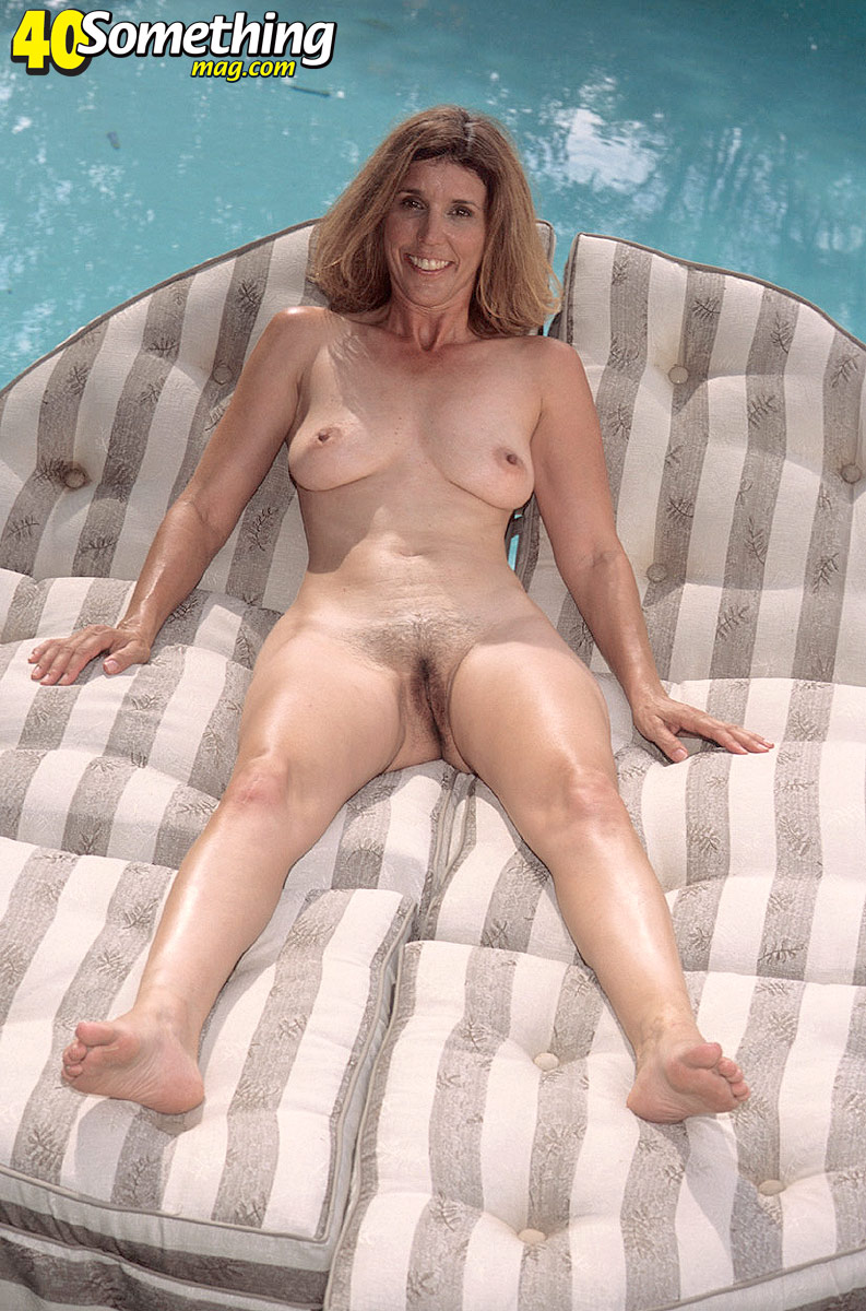 Advise Mature hairy pussy by the pool agree