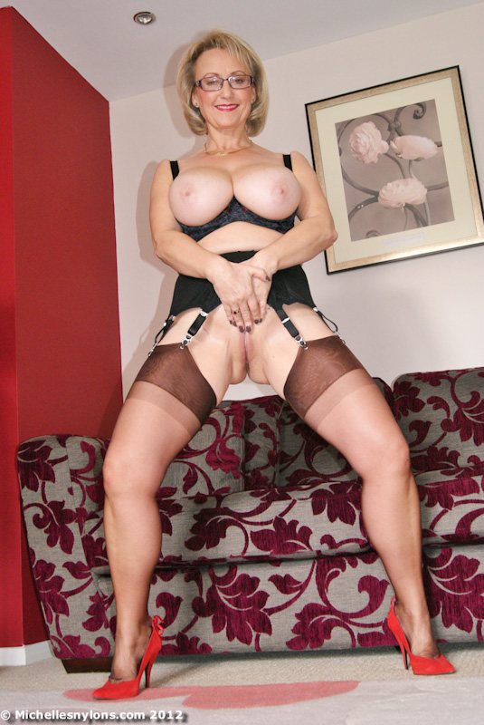 Female domination spanking at home