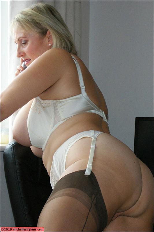 Big boobs naughty housewives heels lingerie