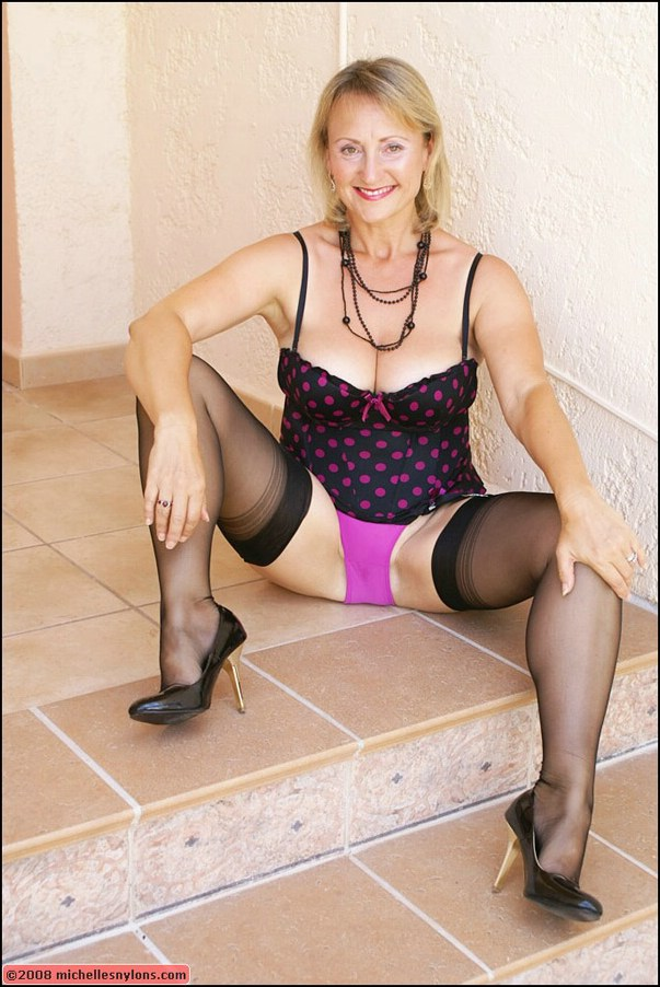 Mature big tits stockings toys pictures this