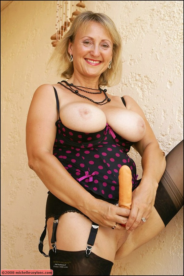 Mature big tits stockings toys pictures