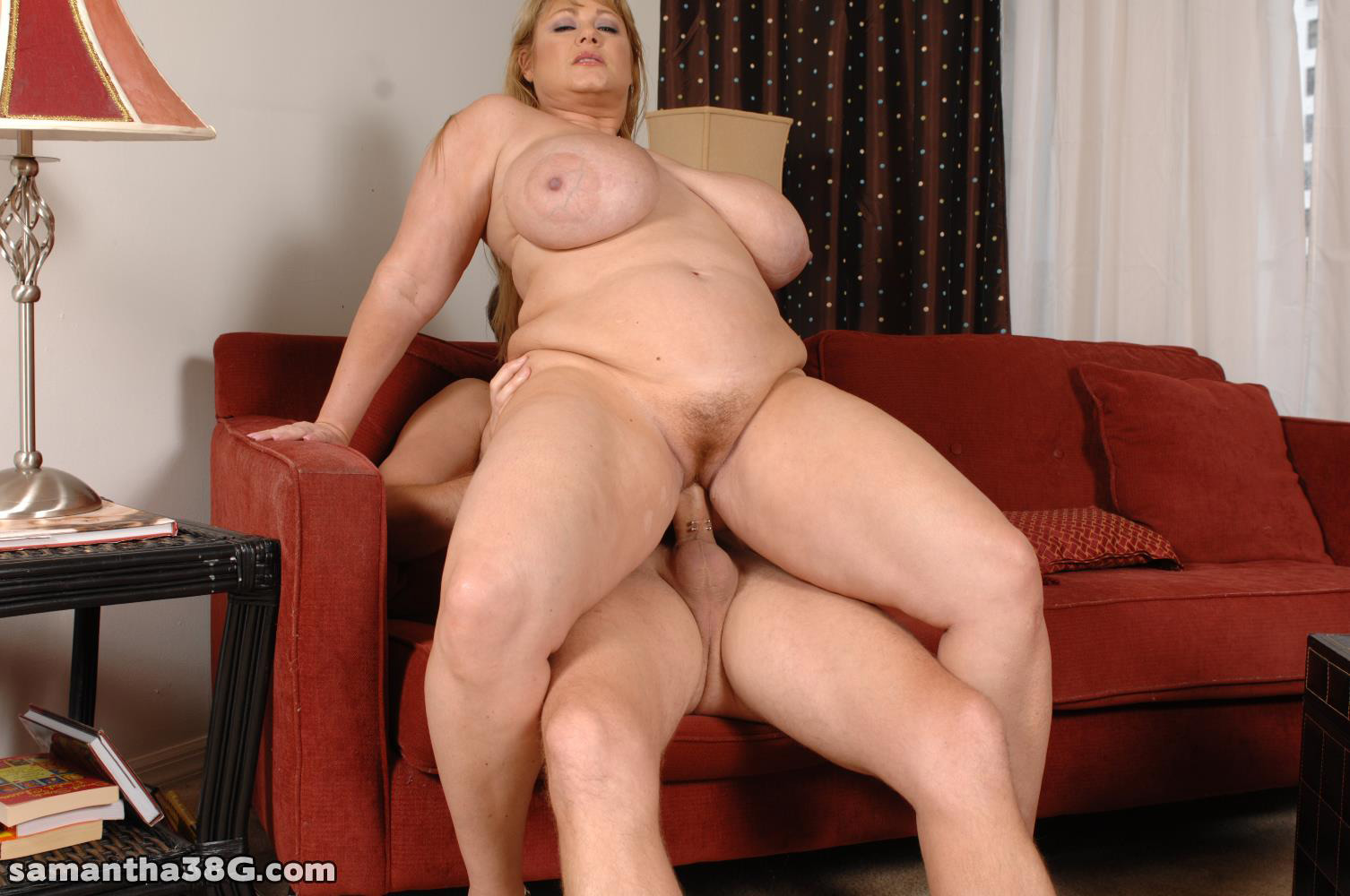 image Fat milf with big copy tits taking big black cock up her tin
