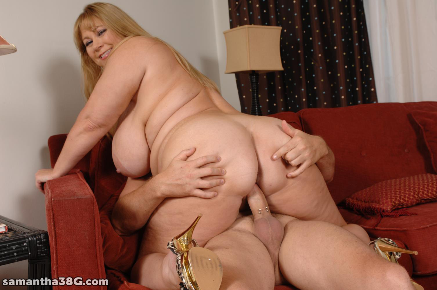 mature on big cock