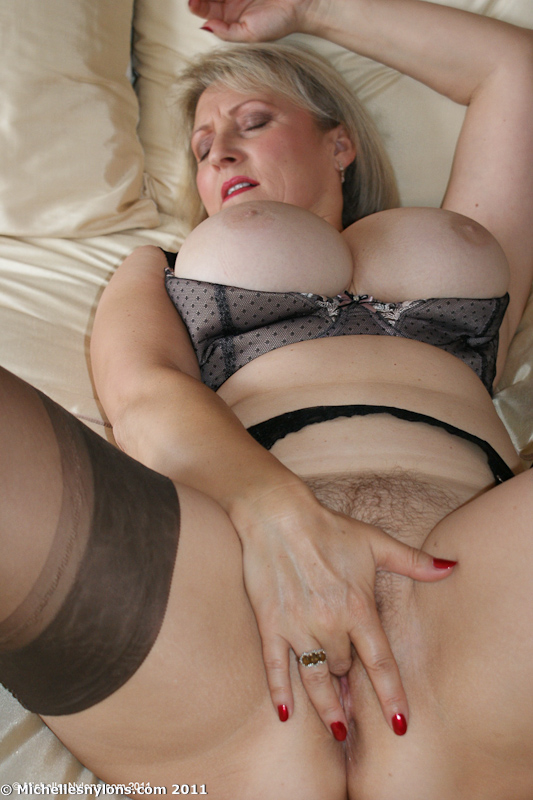 Doubt. Now big tits mature nylon
