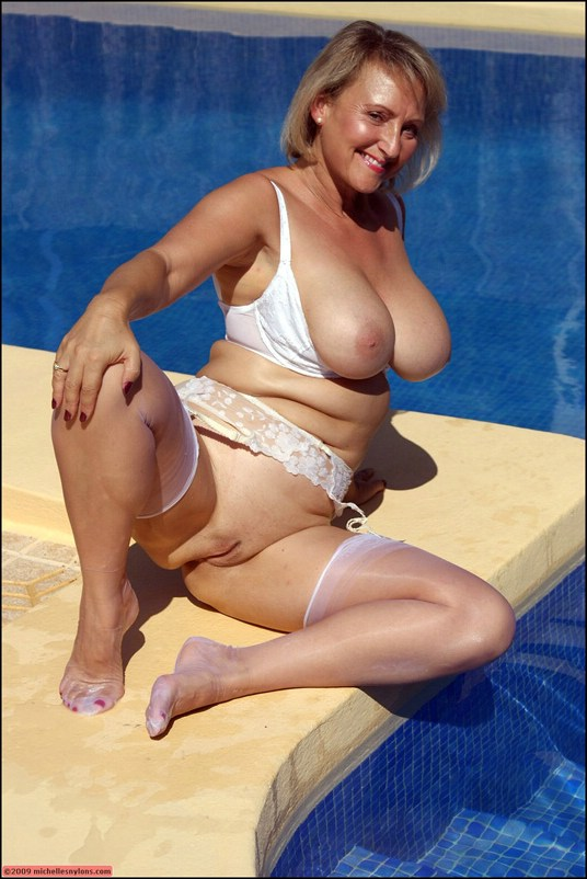 Sorry, that busty mature milf in pool not