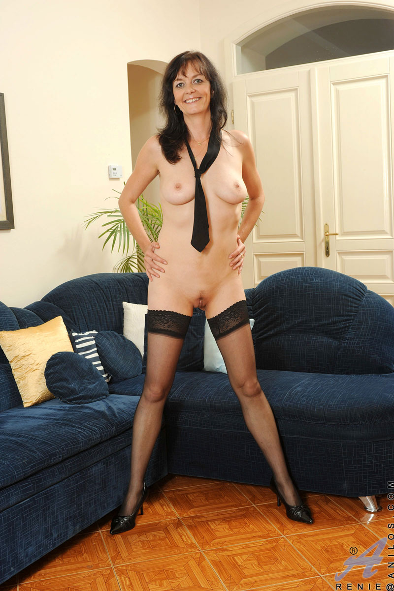 About will High heels stocking spreads sibel can