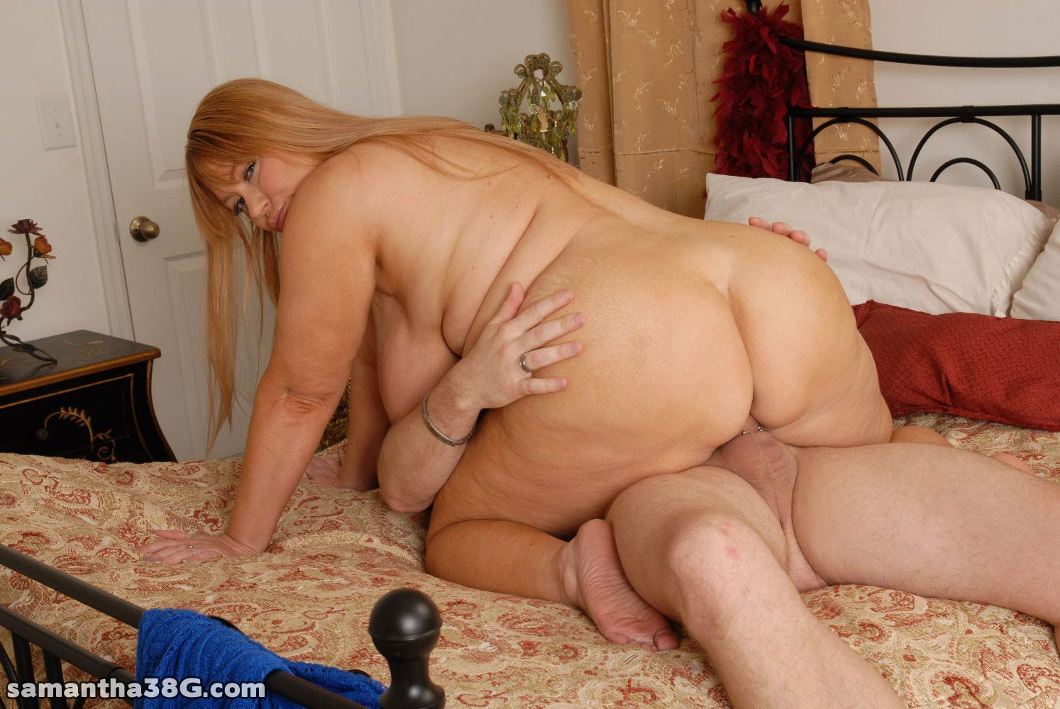 Fat Slut Loves To Ride And Fuck Her Lovers Tasty Cock After Sucking It