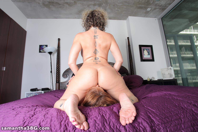 porn bbw face riding lesbos