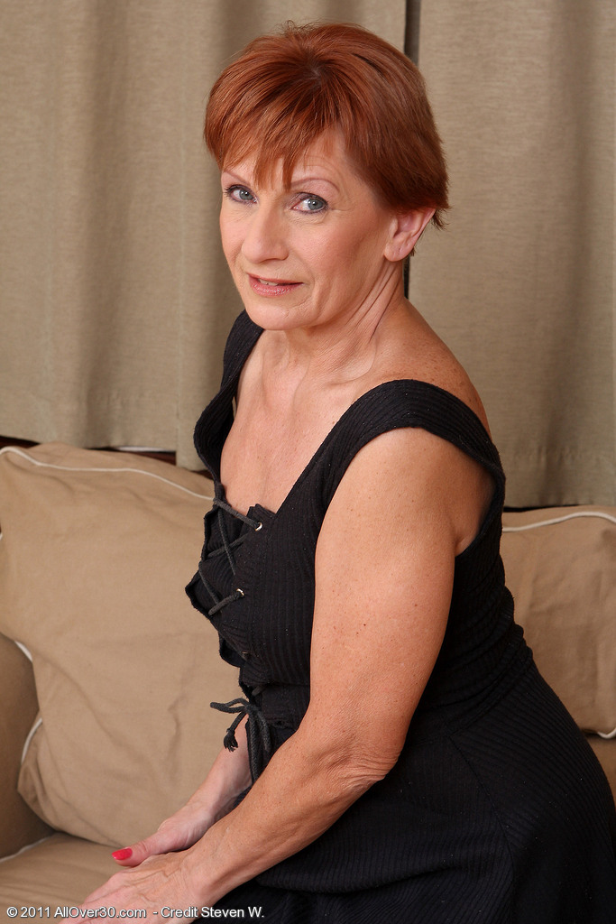 Redhead granny mature