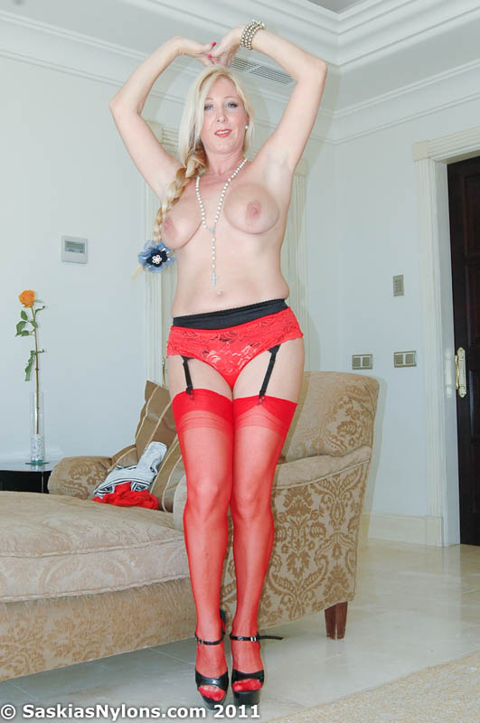 Slut red underwear
