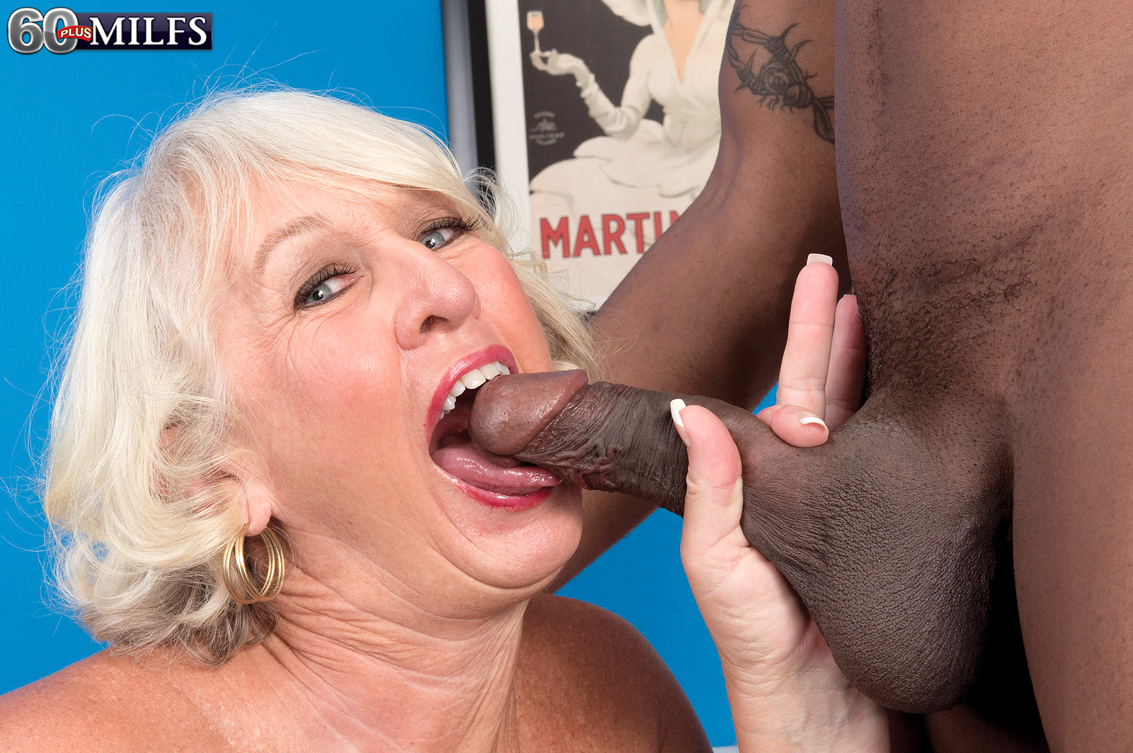 Grannies love big black cock