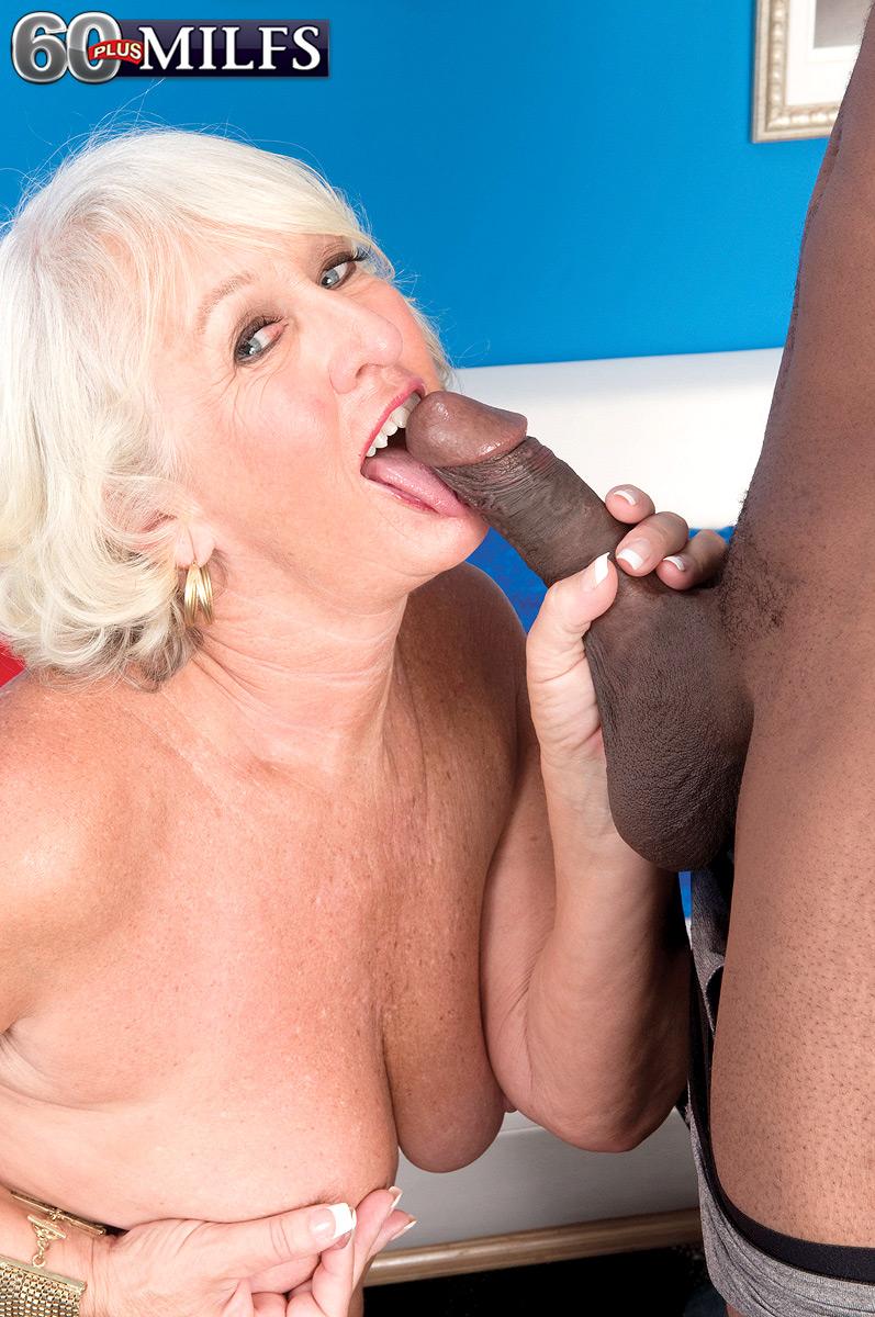 Grandma loves big black cocks