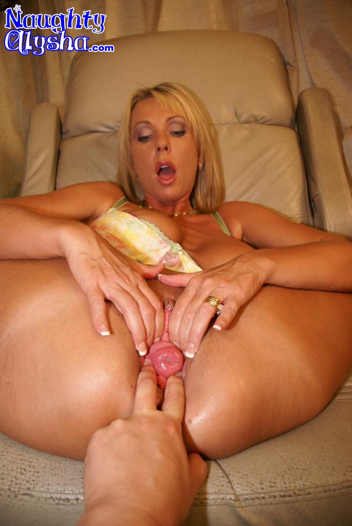 huge dildo all the way in