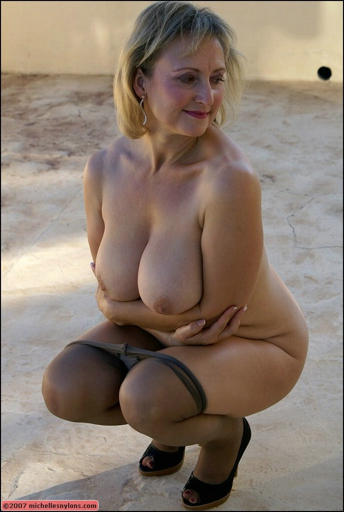 Remarkable, Nude milf with stockings consider, that
