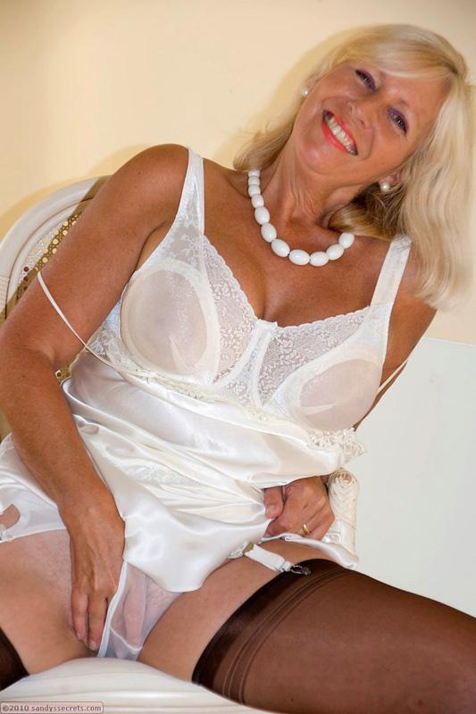 Mature sandy secrets lingerie
