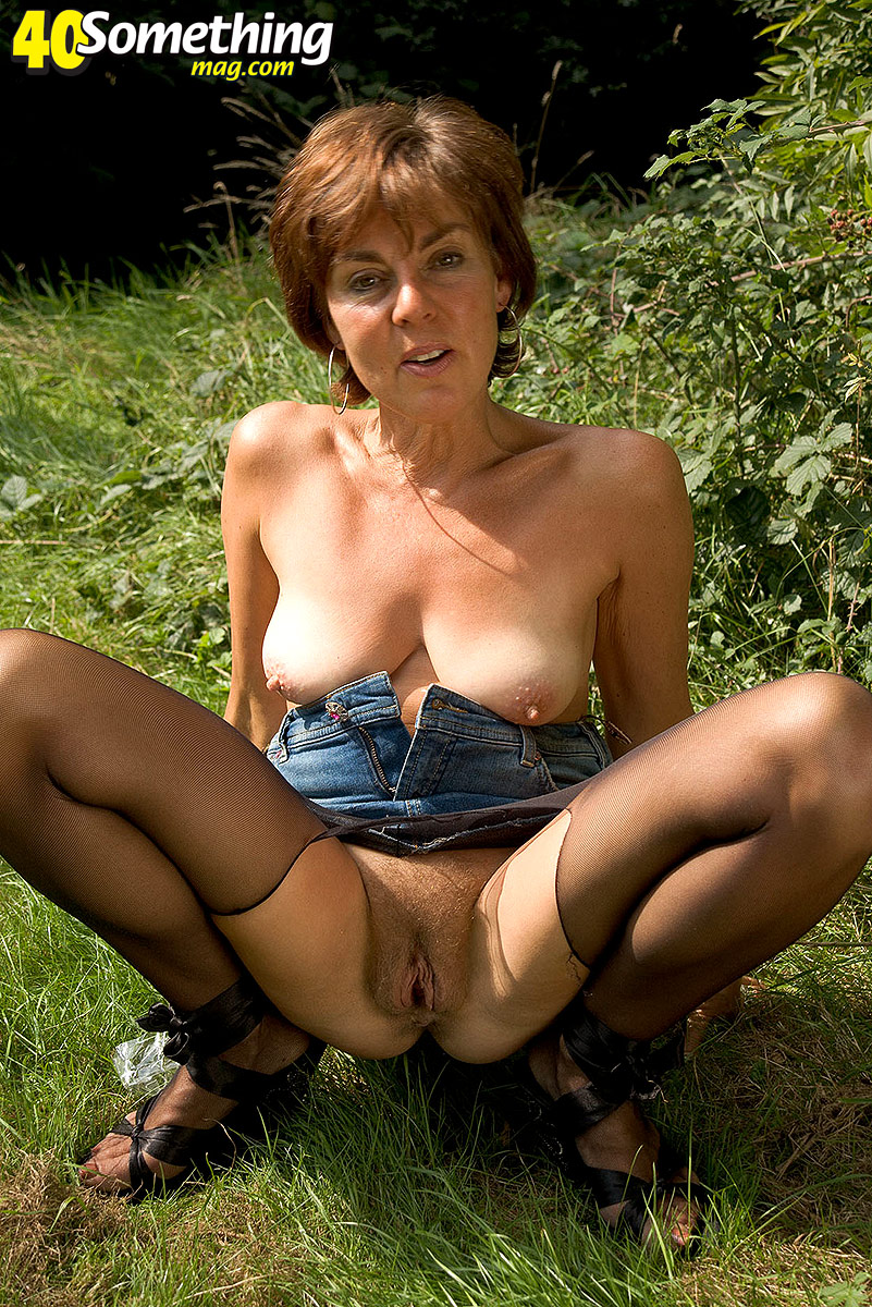 Are outdoor granny porn