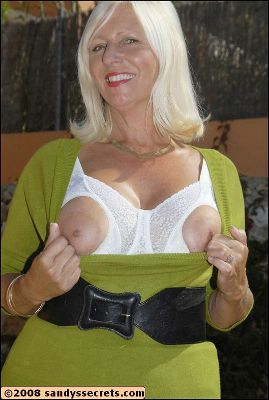 Sexy Big Tit Blonde Granny