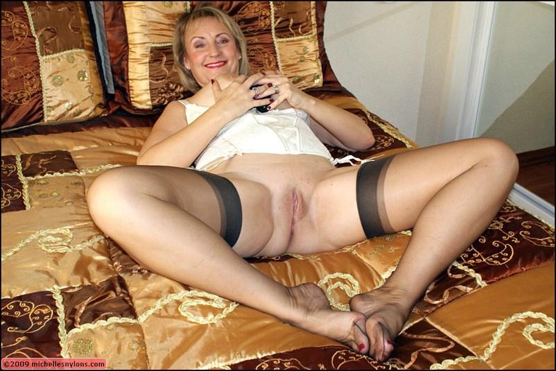Blonde Milf Wife Blowjob