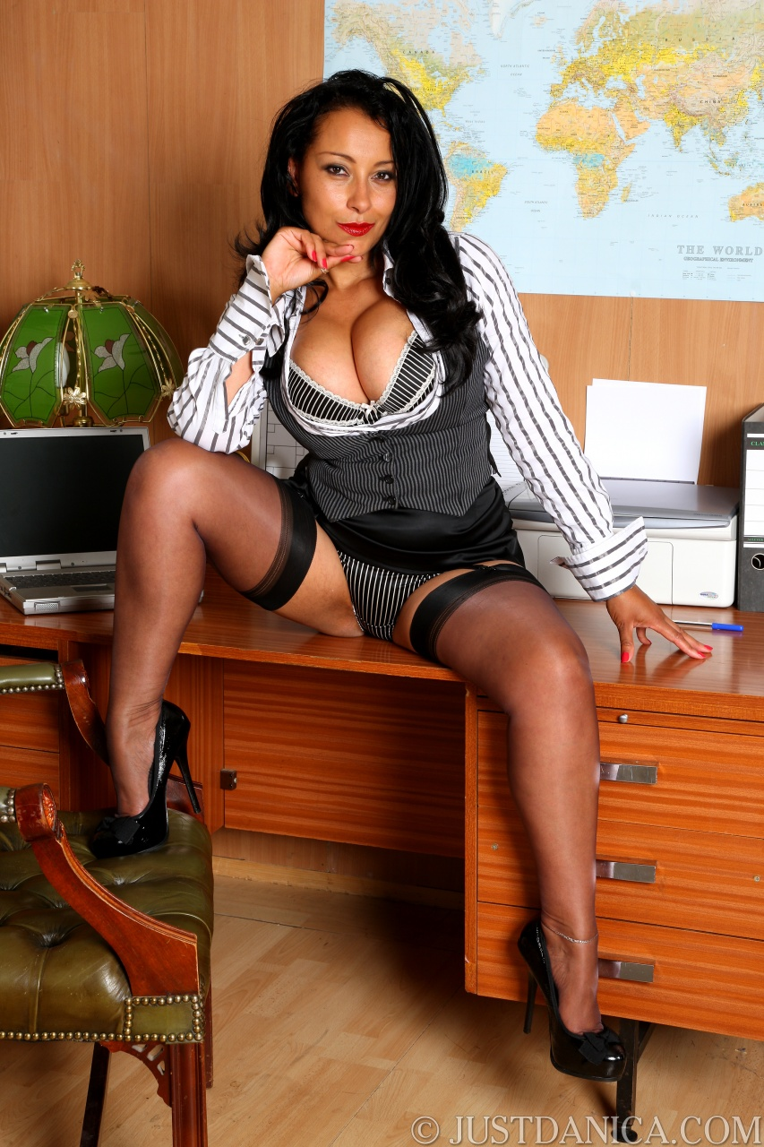 Busty office ladies spreading wide porn galleries